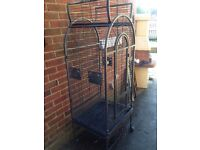 Montana Haiti Parrot Cage Antique Finish [ Current price at THE PET STORE is around £160 ]