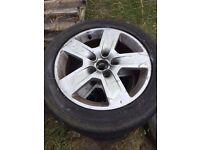 """Set of 4 16"""" Audi alloy wheels"""