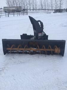 2011 skid steer mount snow blower