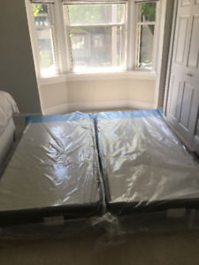 King Size Box Spring - Never been used!!