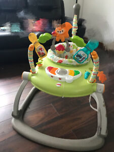 fisher price wooland friends jumperoo