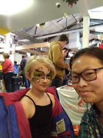 Face painting for party or any event