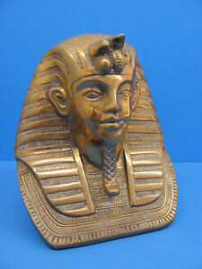 Large Brass KING TUT