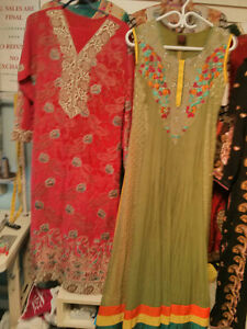 Pakistani and Indian style Dresses