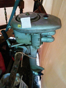 1946 mecury 6 hp 2 cylinder antique outboard