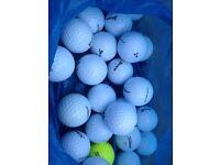 Pearl grade golf balls
