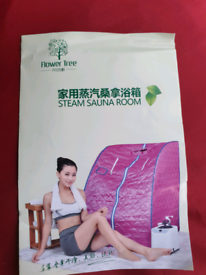 Flower Tree Portable Steam Sauna Room for Home