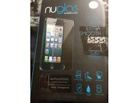 iPhone 5 5C 5S screen protector tempered glass brand new