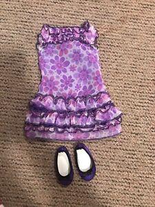 Maplelea doll dress!