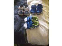 Infant size 5 bundle of shoes