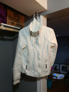 White bench jacket