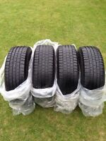 Four P 235/75/R15 AllSeason Michelin X Radial LT2 Nearly New