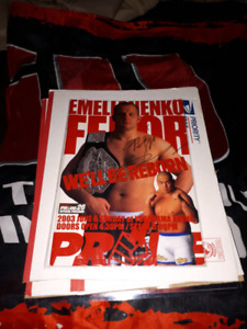 Signed Fedor Emelianenko PrideFC 26 Event Program