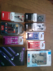 Ear bud collection all New