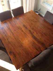 Beautiful rustic dining table