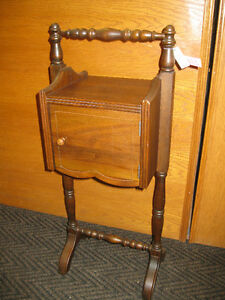 Smokers Stand -- FROM PAST TIMES Antiques & Coll - 1178 Albert