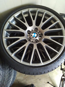 Excellent BMW Tires and Rims