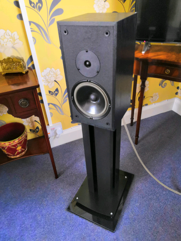 Audio Note AX2 vintage kit speakers audiophile matching stands | in  Grimsby, Lincolnshire | Gumtree