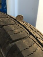 50% Tread Michelin latitude