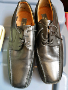 Mens leather dress shoes size 8