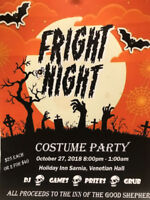 FRIGHT NIGHT COSTUME PARTY