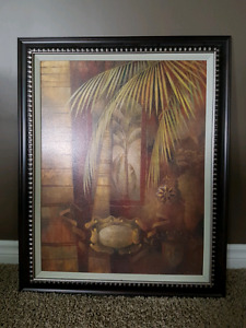 Large picture light canvas no glass