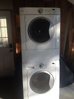 Stackable Frontload Washer an Dryer