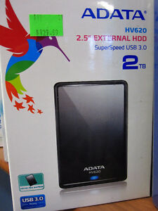 ADATA 2TB HV620 External Hard Drive USB 3.0