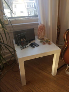Small white bedside table for sale!