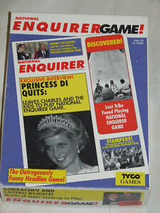 The National Enquirer Game from the 1980s