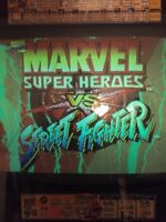 Marvel vs Street Fighter Arcade Game