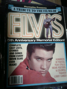 A tribute to the film's of Elvis softcover