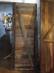 antique  barn doors 34 available and tracks and hardware