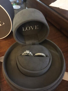 2.74 ct, Engagement ring and wedding band