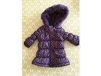 Beautiful French designer Baby girls coat