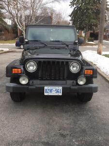 2005 Jeep TJ Se
