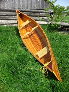 Cedar Strip 17 ft Canoe
