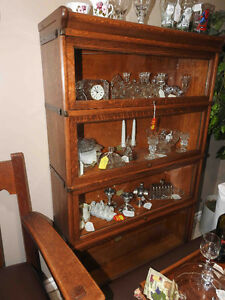 antique barrister bookcases (range of prices) RESTORED