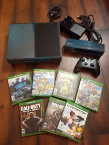 Xbox One (500Gb) w/ Kinect, Controller plus 7 games