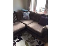 Corner sofa with sofa bed for sale