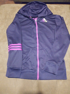 $10$ Adidas Sweater Purple & Pink (Size Small)