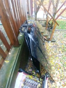2007 Lincoln town car hood