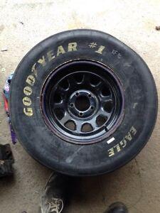 NASCAR style wheel and tire !!! St. John's Newfoundland image 1