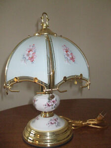 Small delicate bedside lamp