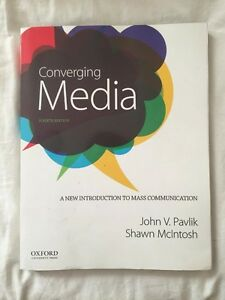 Converging Media Fourth Edition by Pavik and McIntosh
