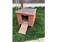 Small rabbit hutch/chicken coop