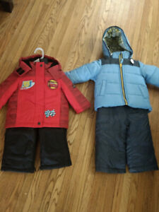 Brand new toddler jackets and snow pants 10 dollars each