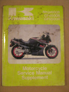 kawasaki ke kl kz en vn gpz zx zxr workshop manual 250 500 750