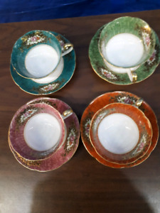 Occupied Japan Cup and Saucers