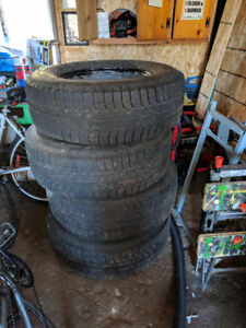 Michelin X-Ice 2 Snow Tires on Steel Rims For Sale